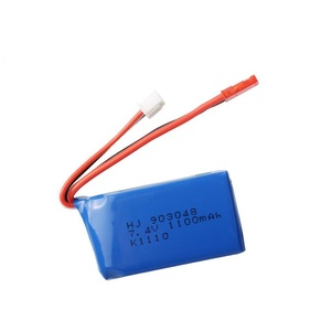 Image 2 - 3Pcs for Wltoys A949 A959 A969 A979 K929 LiPo Battery 7.4V 1100mah 903048 25c Lipo Battery For RC Helicopter Airplane Cars Boats