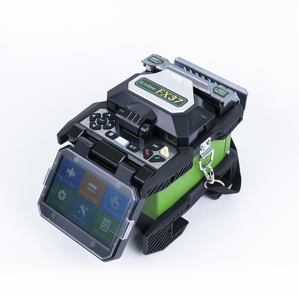 Image 2 - Komshine FX37 core alignment 6 motors fusion splicer with 7s splicing time FTTH optical fiber joint machine-in Fiber Optic Equipments from Cellphones & Telecommunications
