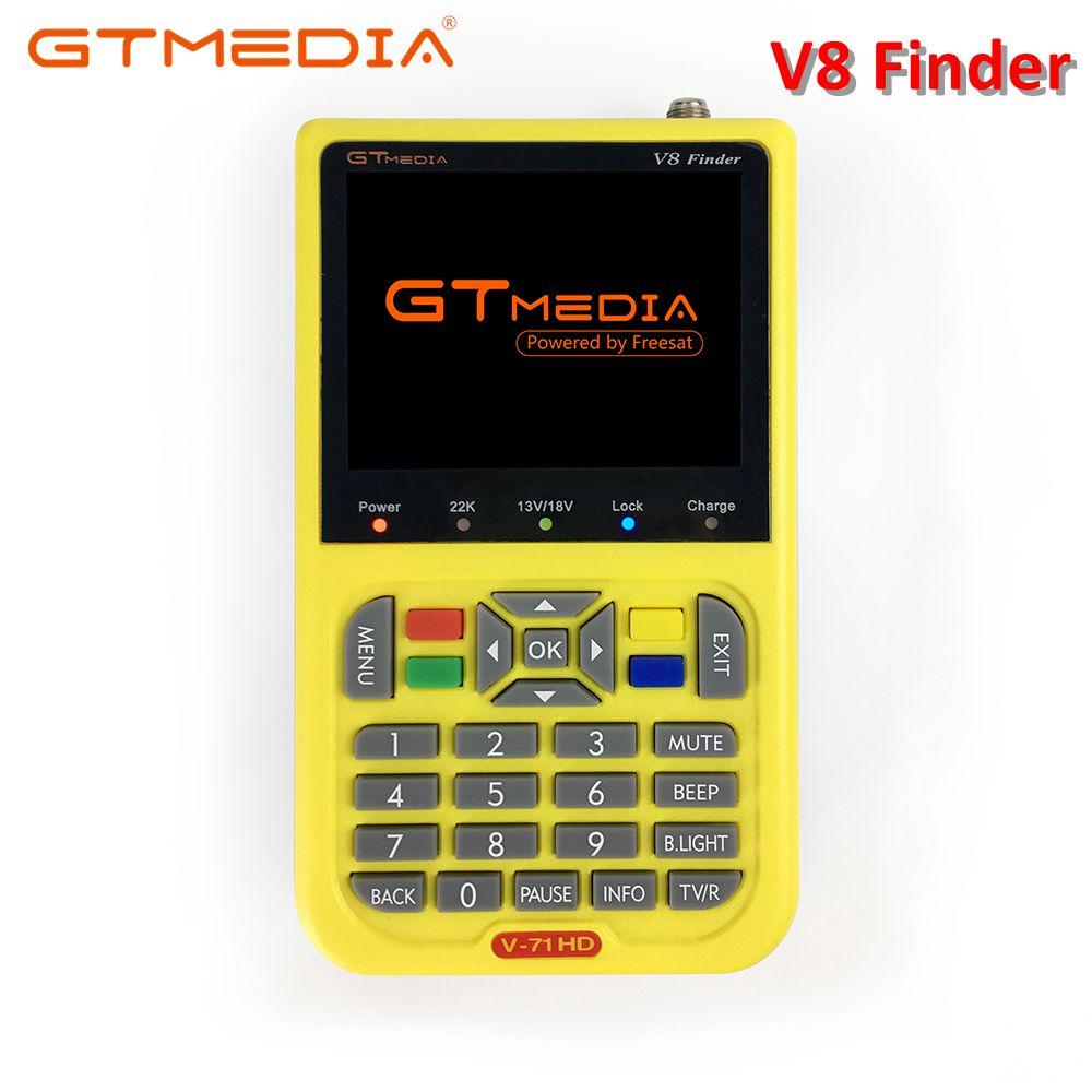 цены на GTMEDIA V8 Finder Digital Satellite Finder HD DVB-S2 High Definition 3.5