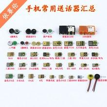 38 modelos, cada um para microfone transmissor mic alto falante peça de substituição para a maioria dos telefones celulares apple lenovo huawei samsung