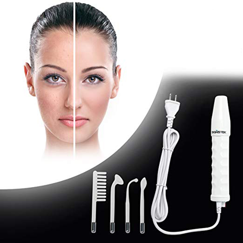 High Frequency Facial Machine Portable Handheld Skin Tightening Acne Spot Wrinkles Remover Beauty Therapy Puffy Eyes Hair Care