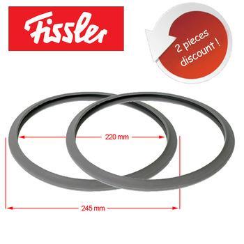 Szybkowar pierścień uszczelniający 2 sztuki zamiennik dla Fissler Vitavit uszczelnienie parowe 2062600201 (przed 1986) tanie i dobre opinie KG-Part TR (pochodzenie) Części szybkowar elektryczny