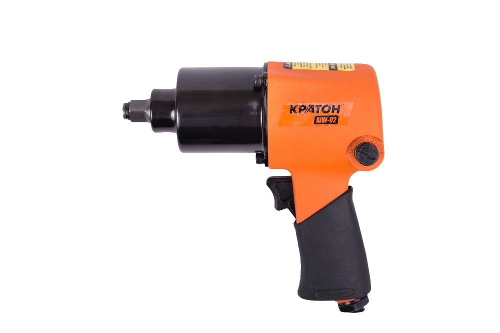 Pneumatic wrench KRATON AIW-02 lithium battery socket wrench hand drill chuck bit hammer installation power tools cordless electric wrench impact