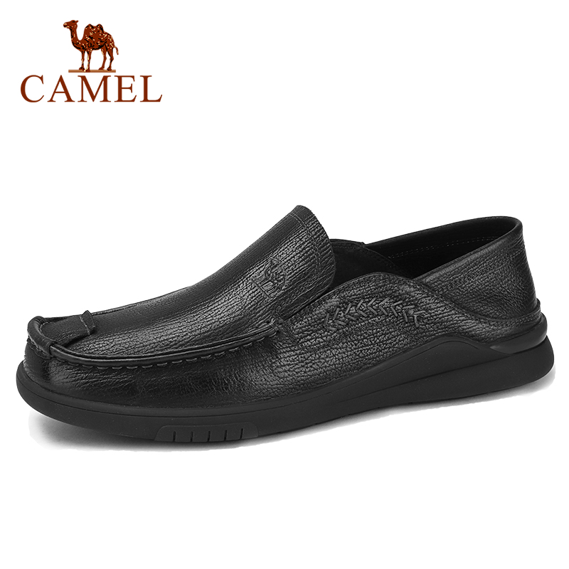 CAEML Men s Shoes Casual Genuine Leather Cowhide Sets Business Shoes Soft Comfortable Pigskin Insole Cushioning