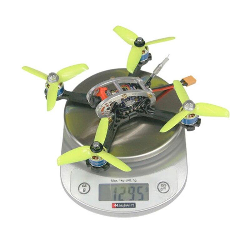 KINGKONG/LDARC FPV EGG PRO 138mm RC FPV Racing Drone PNP W/ F4 OSD 4 in 1 20A ESC 25mW/100mW 16CH VTX CCD600 600 TVL NTSC CAM