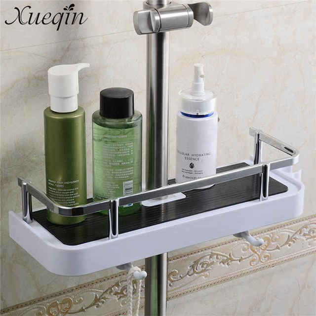 Xueqin Rechteck/Runde Badezimmer Regale Dusche Storage Rack Halter ...