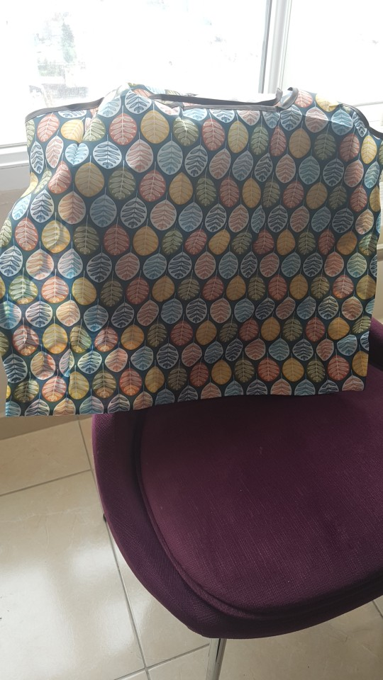Waterproof Folding Reusable Eco Shopping Travel Shoulder Bag Pouch Tote Handbag photo review