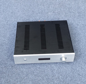 BZ3608D All Aluminum Power Amplifier Chassis With volume display Audio Amp Case DIY Box Amplifier Shell