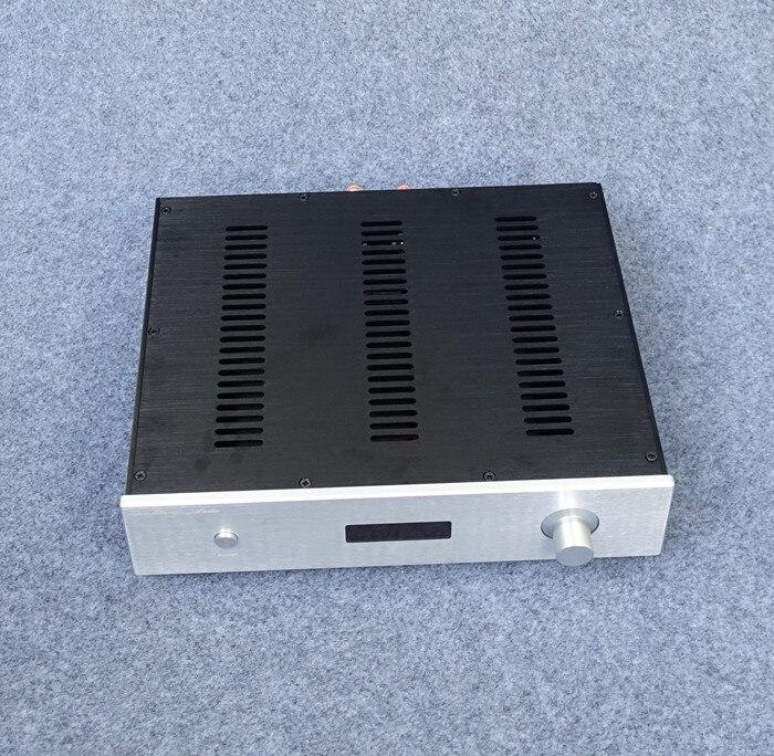 BZ3608D tout en aluminium amplificateur de puissance châssis avec affichage du volume Audio Amp Case bricolage boîtier amplificateur Shell