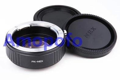 Amopofo PK-NEX Focal Réducteur Vitesse Booster Adaptateur pour Pentax PK mont Lens pour pour Sony NEX E NEX-F3 NEX-7 NEX-5N NEX-C3 NEX-3