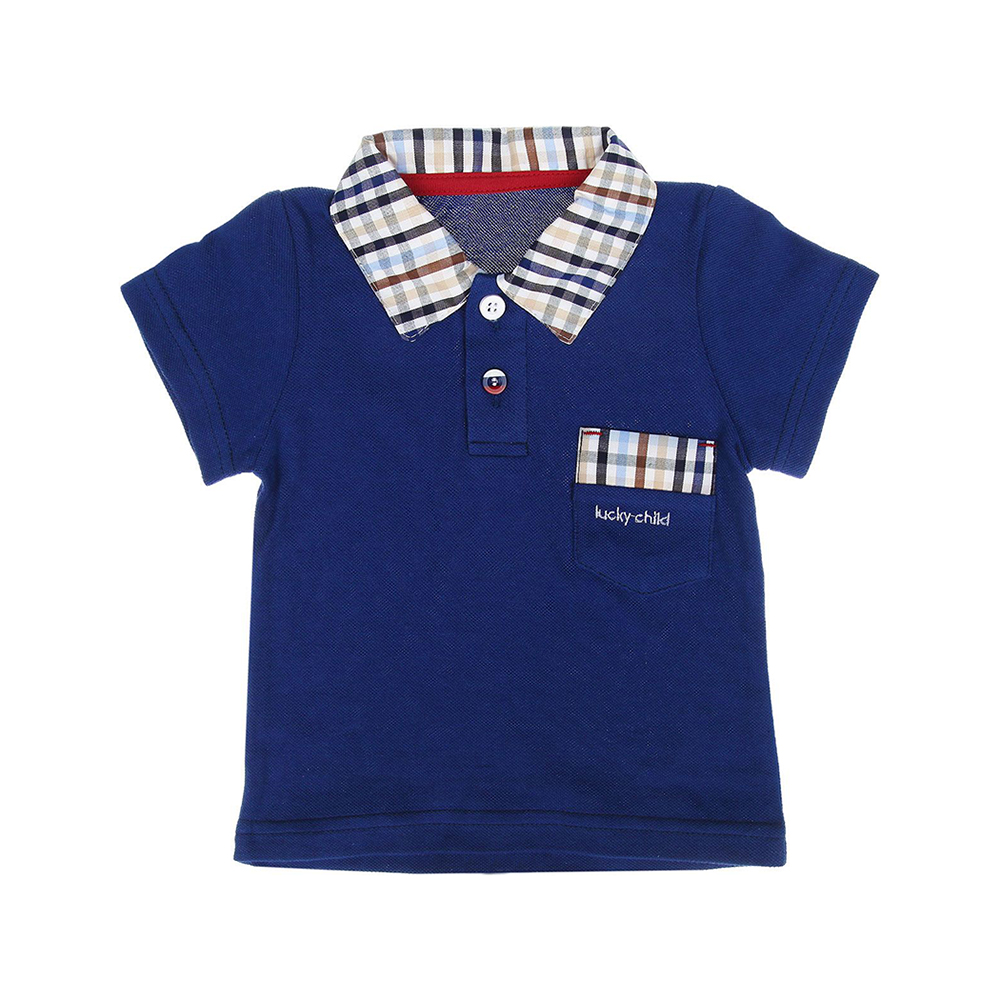 T-Shirts Lucky Child for girls and boys 40-50 (24M-8T) Top Kids T shirt Baby clothing Tops Children clothes db4072 dave bella autumn baby boys red clothing set patchwork clothing set