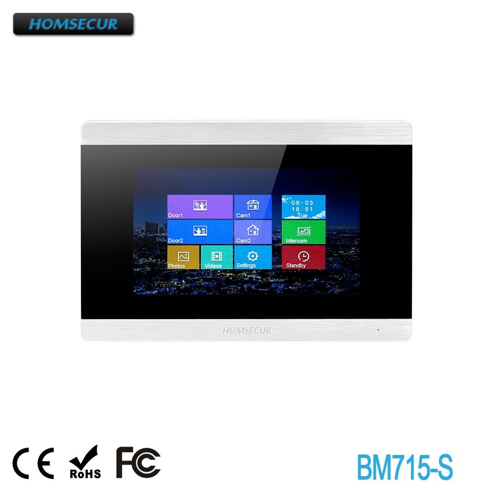 HOMSECUR BM715-S Indoor Monitor For HDK Video Door Phone System