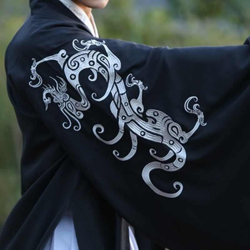 Традиционная китайская одежда для мужчин мужское пальто Верхняя одежда Восточный зимний Тренч Мужская одежда Тренч 2018 TA1171