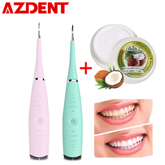 US $17 69 41% OFF|5 Levels Electric Sonic Dental Scaler Tooth Calculus  Remover Tooth Teeth Whitening Stains Tartar Scraper Portable High  Frequency-in