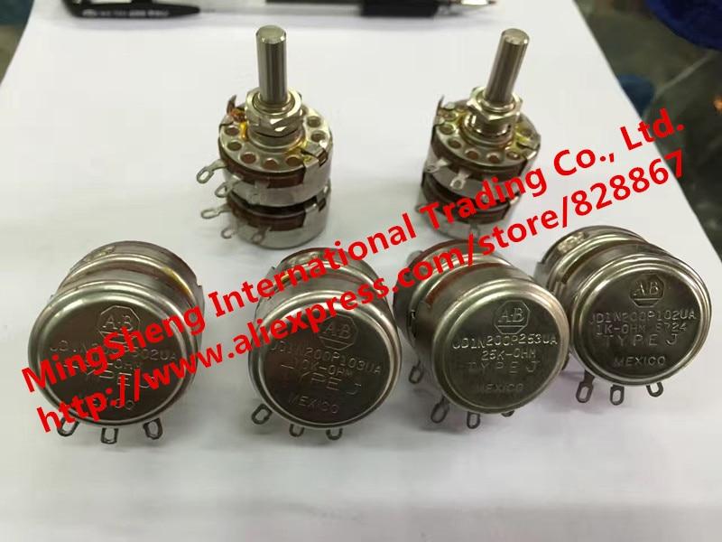 Quality assurance dual potentiometer JDIN200P502UA JDIN200P 102 103 203 5K 10K 1K 25K (SWITCH) 0805 10k 103 5