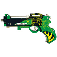 Hunting god Rubber band pistol diy assembly wooden models toys for children maket arquitectura jouets