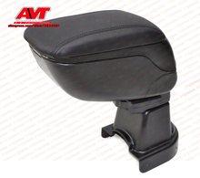 Автомобиль Подлокотник для Chevrolet Aveo T250 2005-2011 центральной консоли кожа коробка для хранения содержание Декор интерьера, аксессуары Тюнинг автомобилей