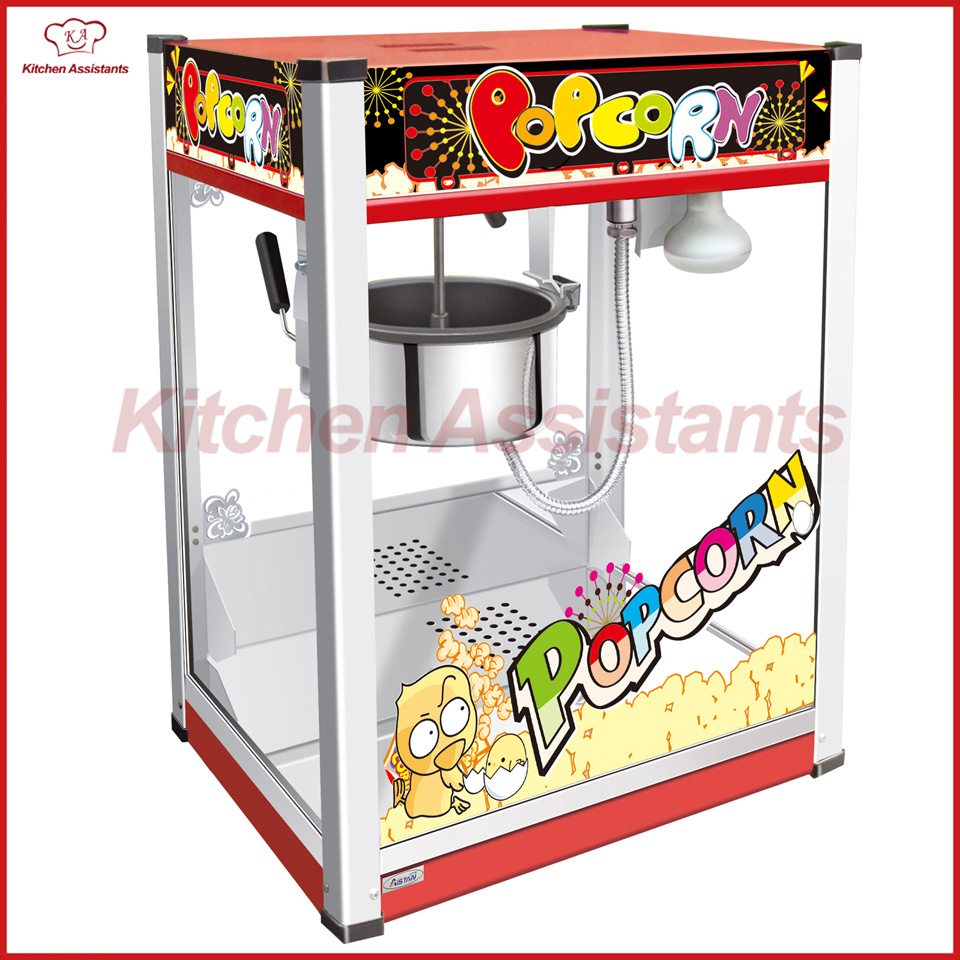 VBG1708 Professional automatic popcorn machine maker with big volume 8oz series vbg1708 professional automatic popcorn machine maker with big volume 8oz series