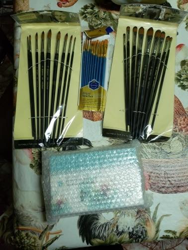 Artist Painting Brush Set 9Pcs photo review