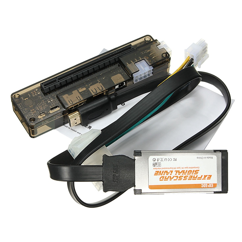 цена на Express Card Mini PCI-E Version Expresscard V8.0 EXP GDC Beast PCIe PCI-E PCI Laptop External Independent Video Card Dock