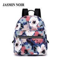 Impression florale femmes sac à dos toile feuille adolescents sac d'école pour fille sac à dos Mini 2018 petit sac à dos sacs à dos pour l'école