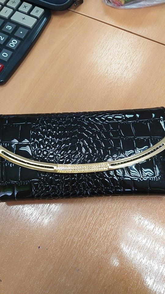 кожаный бумажник мужчины; Украшения:: Бриллианты; фото бумажник; бумажник женщин;