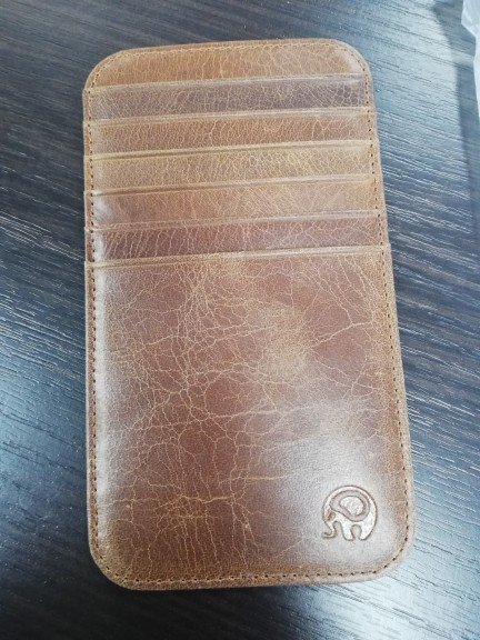 Pocket Leather long Card Case Exquisite Attractive Card Case Business Card Box Holder credit card holder men wallets porte carte photo review