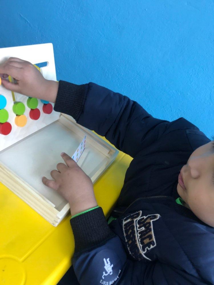 Brinquedos mat. Correspondência Montessori Matemática