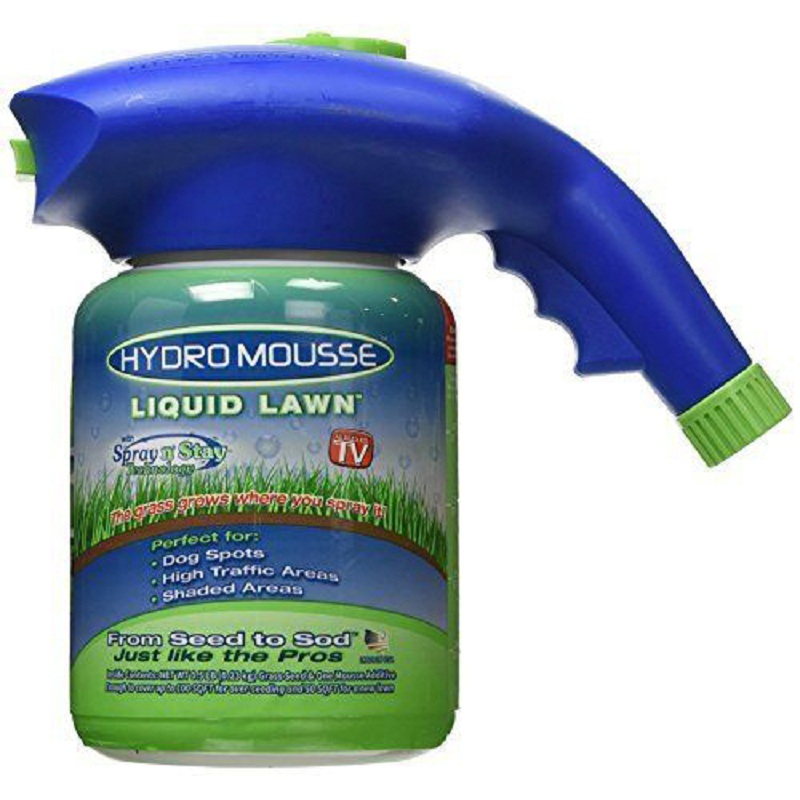 Seed Sprinkler Liquid Lawn System Grass Seed Sprayer Plastic Watering Can Quick And Easy Sprayers