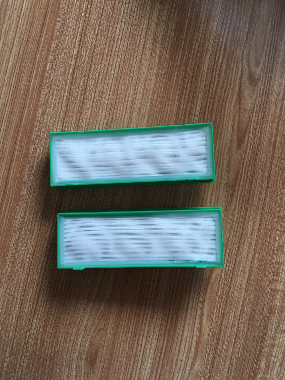 2 pcs Robot Vacuum Cleaner Parts HEPA Filter for Vorwerk Kobold VR200 VR-200 replacement robot vacuum cleaner hepa filter for lg vr65710 vr6260lvm vr6270lvm robotisc cleaner