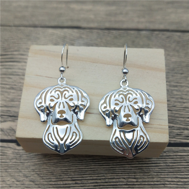 New Vizsla Drop Earrings Trendy Style Vizsla Dangle Earrings Fashion Pet Dog Earrings Women Jewellery