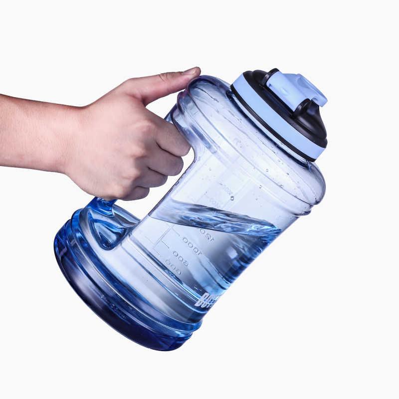 Plastik Besar Botol Air Bpa Gratis Botol untuk Latihan Camping Outdoor Lari Gym Olahraga Kebugaran Menangani Air Botol 2.5L