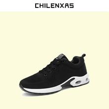 CHILENXAS 2017 autumn winter new font b shoes b font Leather font b Casual b font