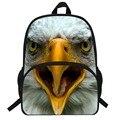 16-дюймовые милые детские сумки с животными  рюкзак с принтом совы для девочек  школьная сумка с принтом совы для мальчиков  школьный рюкзак д...