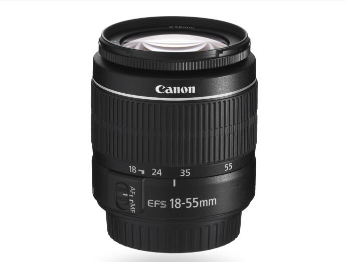 Used Canon EF-S 18-55mm f/3.5-5.6 IS III camera lens SLR cameraUsed Canon EF-S 18-55mm f/3.5-5.6 IS III camera lens SLR camera