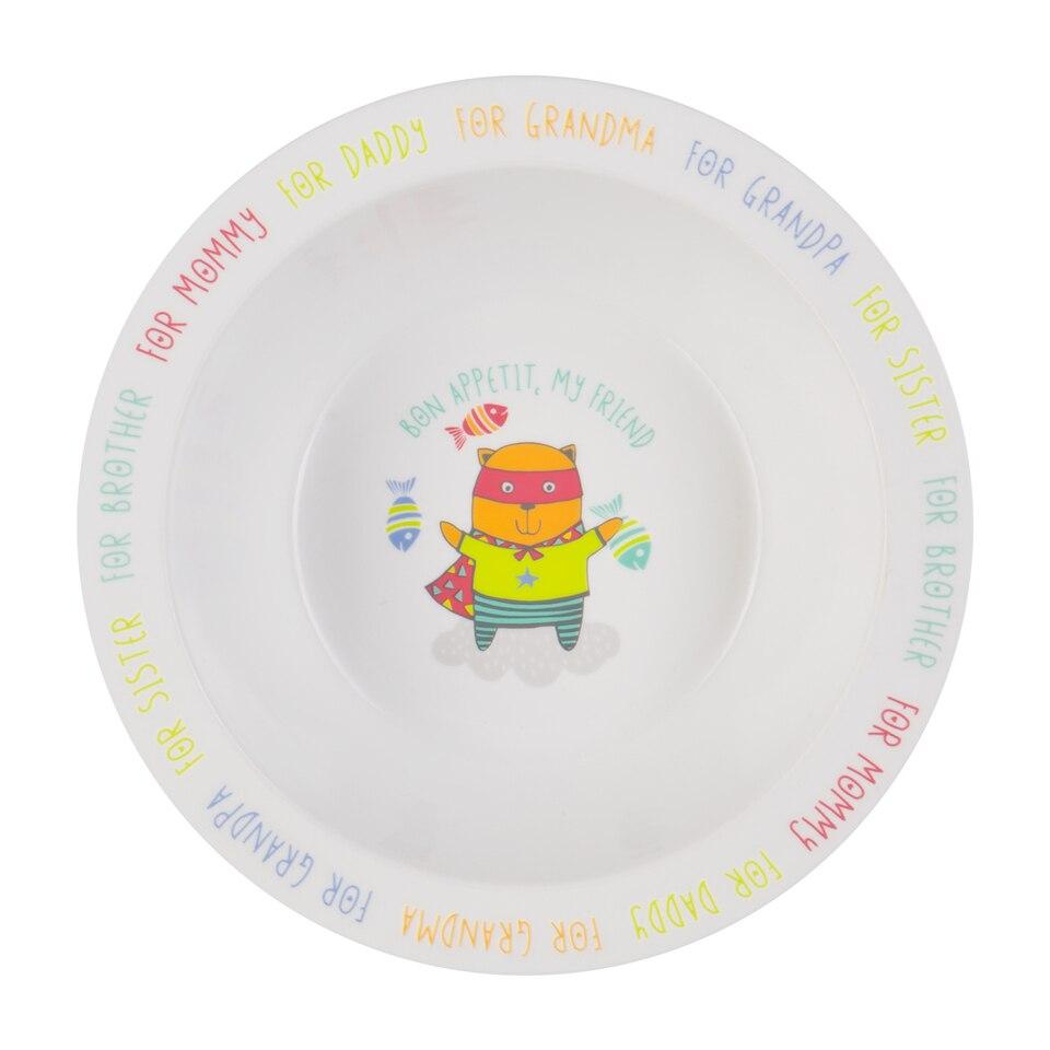 Тарелка Happy Baby глубокая для кормления 15016