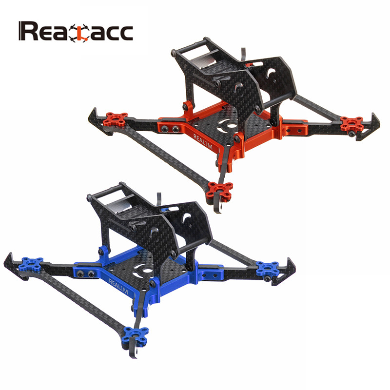 Realacc Real1M 140mm 3 Inch CNC Carbon Fiber RC Drone FPV Racing Frame Kit 3mm Vertical Arm For RC Multirotor DIY Parts Accs f04305 sim900 gprs gsm development board kit quad band module for diy rc quadcopter drone fpv