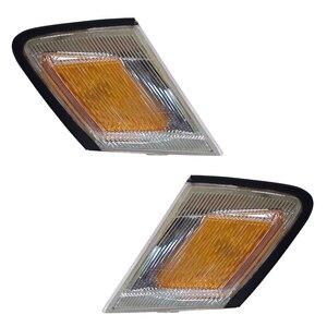 Image 1 - Front Turn Signal Lights fits TOYOTA MARK II 1992 1993 Marker Parking Corner PAIR