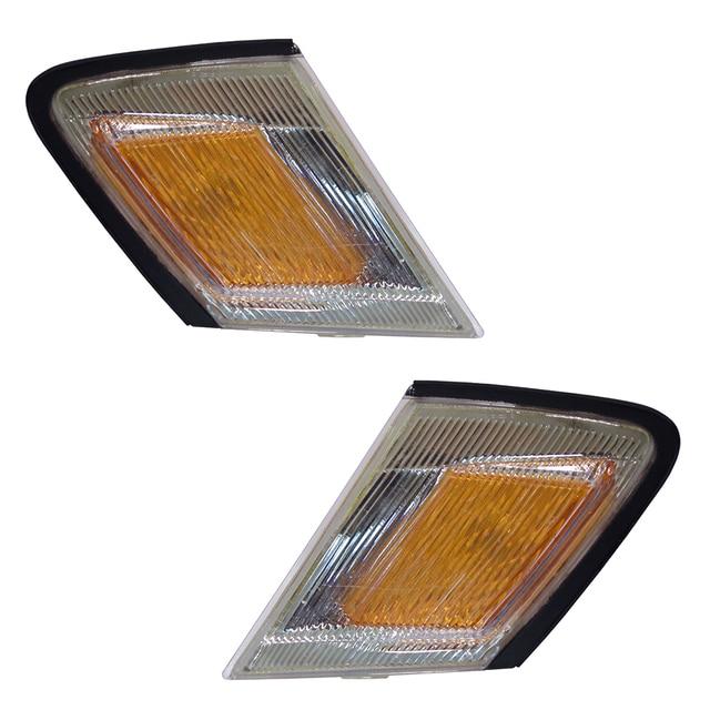 Front Turn Signal Lights fits TOYOTA MARK II 1992 1993 Marker Parking Corner PAIR