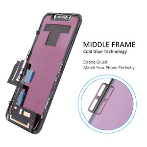 Image 4 - Elekworld Perfectly Quality TFT Full Front Assembly for iPhone XR LCD Display Touch Screen Digitizer Assembly Replacement Part