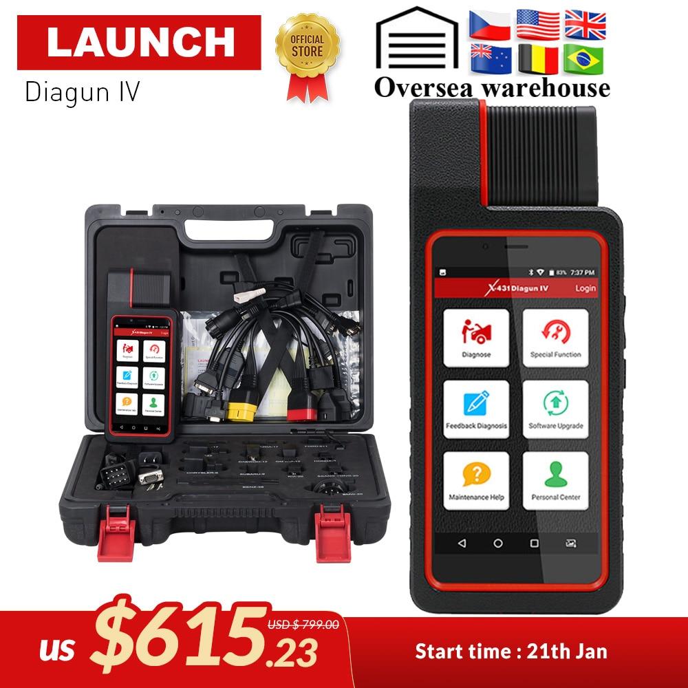 LANÇAMENTO Diagun IV X431 Auto Ferramenta de Diagnóstico Completo do Sistema de Apoio Bluetooth/Wifi com 2 Ano Atualização Gratuita melhor do que diagun iii