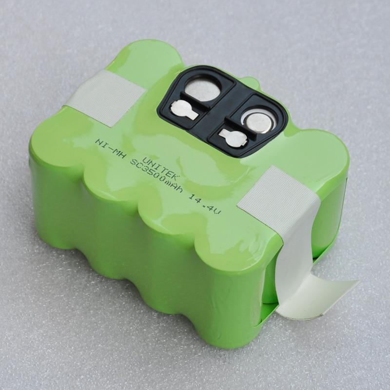 14.4V SC Ni-MH rechargeable battery pack 3500mAh Vacuum Cleaner Sweeping Robot for KV8 XR210 XR510 XR210A XR210B XR510B XR510D цена