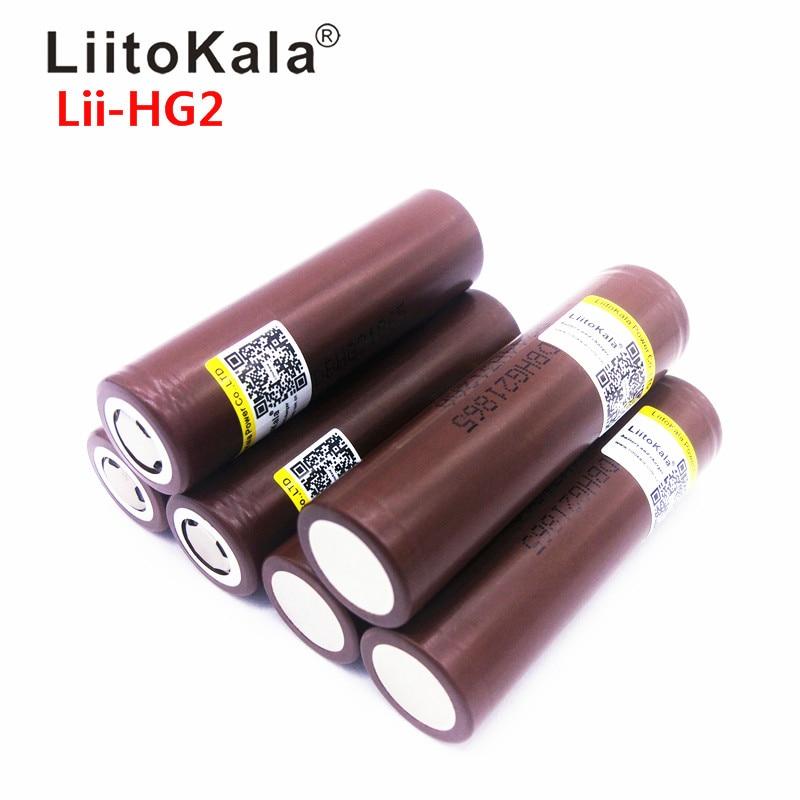 Аккумуляторная батарея LiitoKala, 18650, 18650, 3000 мАч
