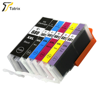 PGI-680XXL CLI-681XXL Tatrix Newest Ink Cartridge PGI680 CLI681 Compatible for Canon PIXMA TR7560/TR8560/TS6160/TS8160/TS9160