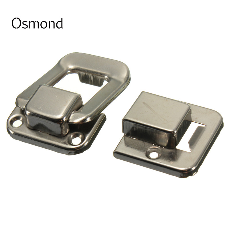 Osmond 37x25MM Metal Lock Hardware Cabinet Boxes DIY Bag Accessories Latch Catch Toggle Bags Parts Button Clasp Closure Locks osmond 37x25mm metal lock hardware cabinet boxes diy bag accessories latch catch toggle bags parts button clasp closure locks
