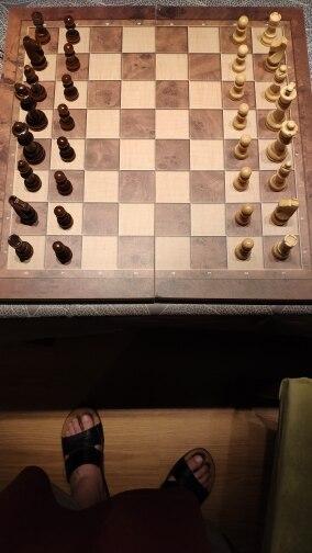 Jogos de xadrez Portátil Portátil Internacional