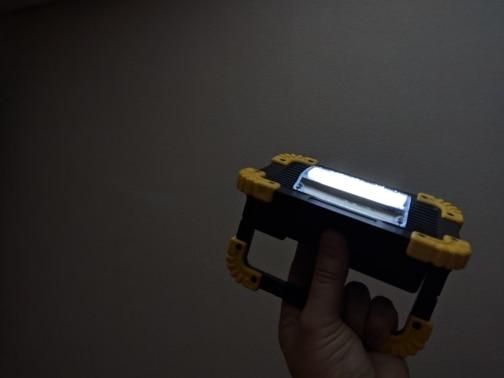 Projetores portáteis Holofotes Holofotes Lâmpada