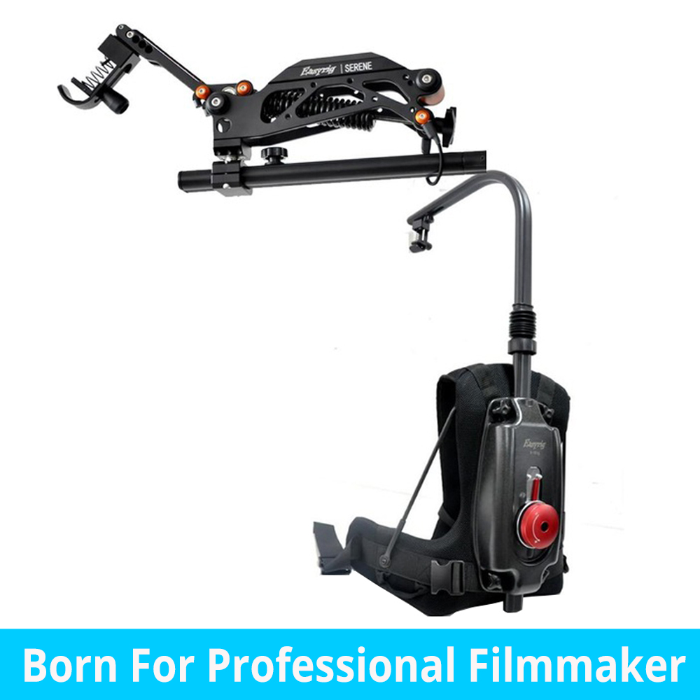 video Serene Like EASYRIG camera gimbal rig support backpack Vest for dslr DJI Ronin M 3 AXIS gimbal with flowcine serene digitalfoto pdmovie motorized wired follow focus zoom focus for dslr camera dji ronin m rig 3 axis gimbal film making sony nikon