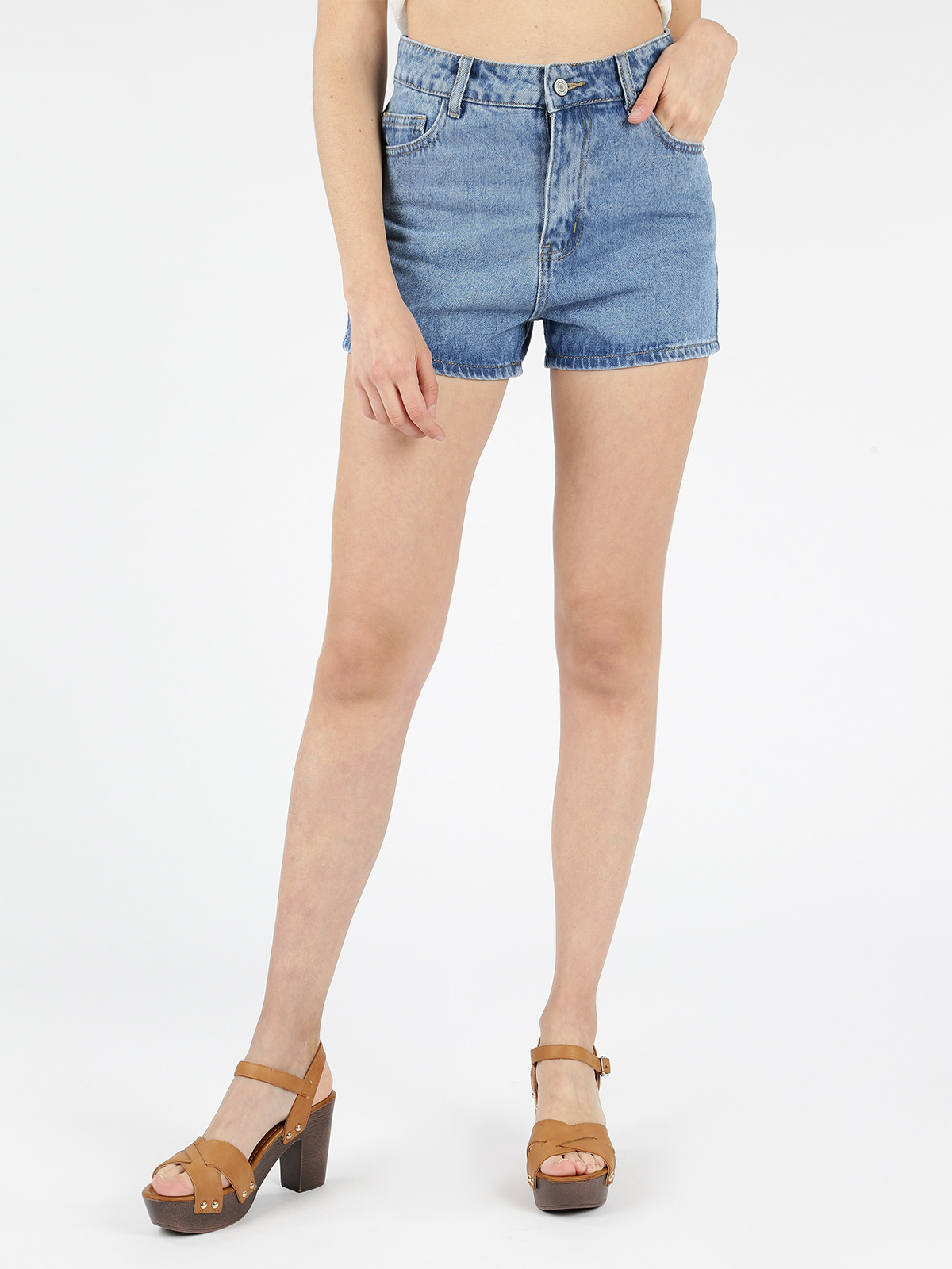 ANGELICA 2000 Shorts High Waist Jeans