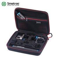 Smatree Carrying Case for GoPro Hero 7/6/5/4/3+/3/ GoPro Hero 2018/SJCAM sj4000/Xiao mi Yi G260SL Hard bag